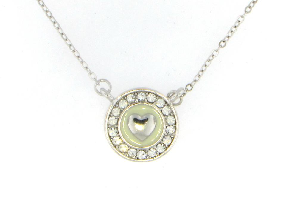 Australian Crystal Heart Necklace